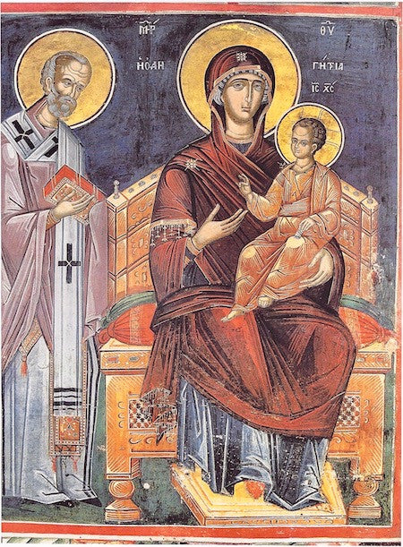 "Theotokos ""Enthroned"" icon (8)"