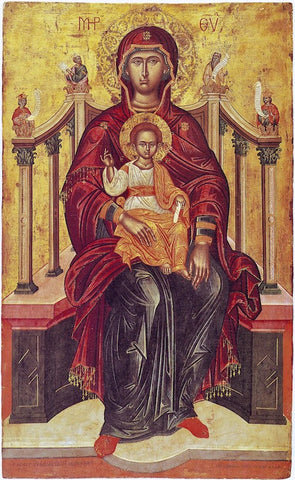 "Theotokos ""Enthroned"" icon (9)"