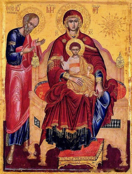 "Theotokos ""Enthroned"" icon (3)"