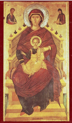 "Theotokos ""The Lady of the Angels"" icon (2)"