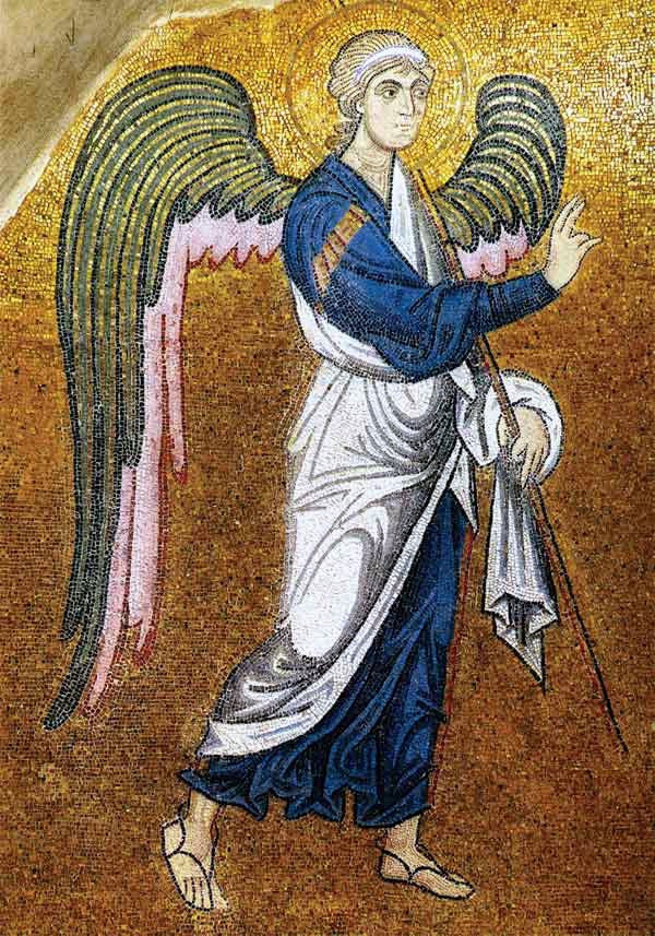 Angel of the Annunciation icon