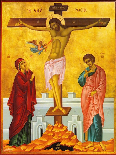 Crucifixion icon (6)