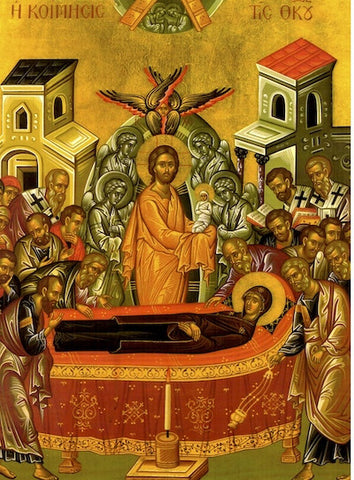 Dormition of Theotokos Icon (8)