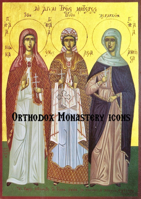 The Holy Mothers icon