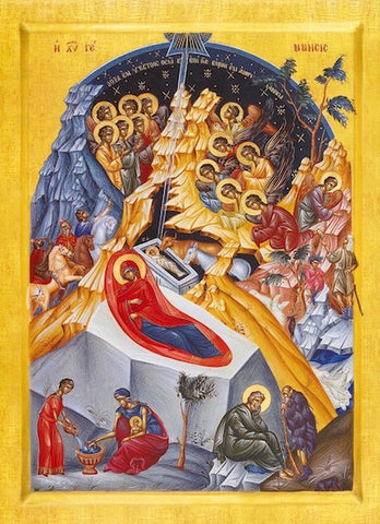 Nativity of our Lord Jesus Christ icon (2)