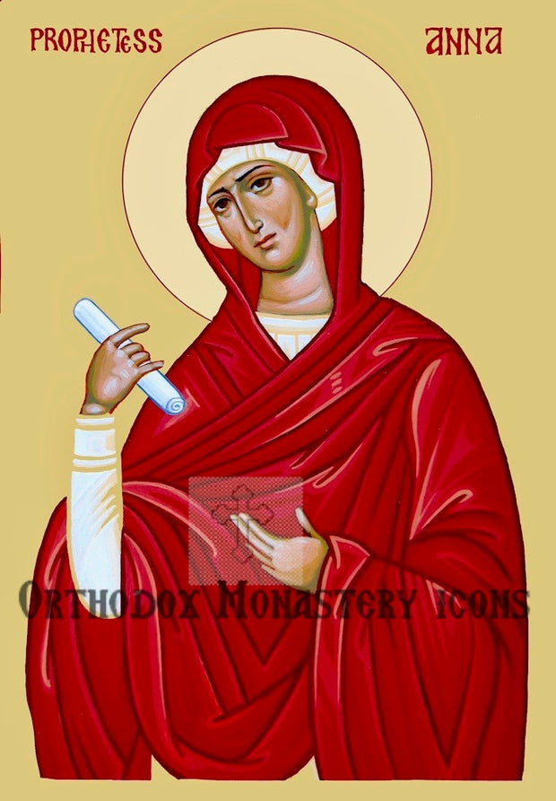 Anna, the Prophetess icon
