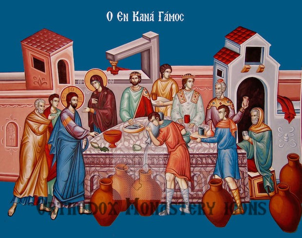 Wedding of Cana Icon (3)