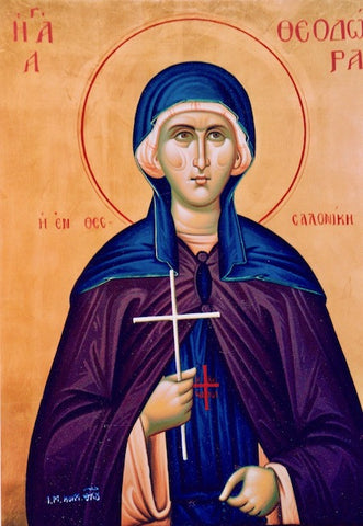 St. Theodora of Thessaloniki icon