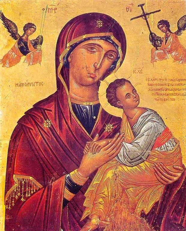 "Theotokos ""Immaculate"" icon (3)"