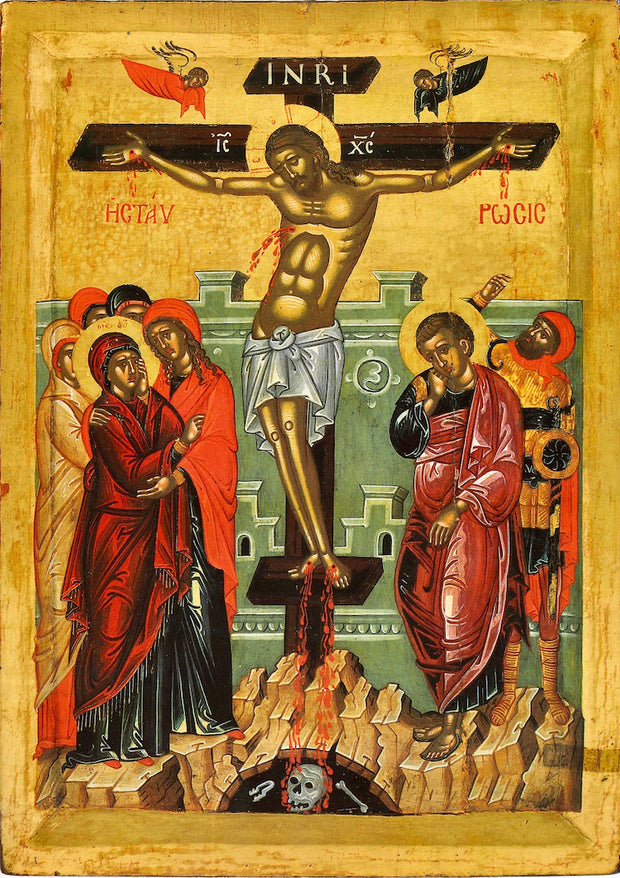 Crucifixion icon (5)