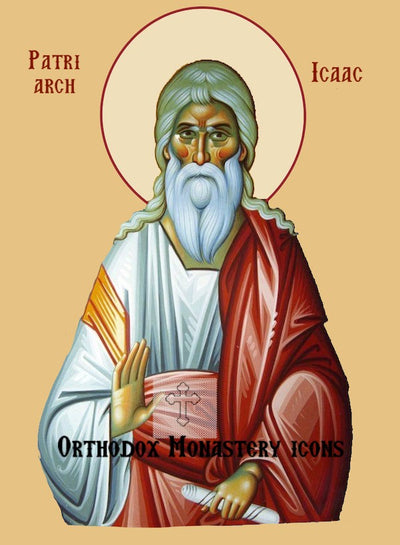 Isaac the Patriarch icon