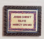Sticker with Jesus Prayer
