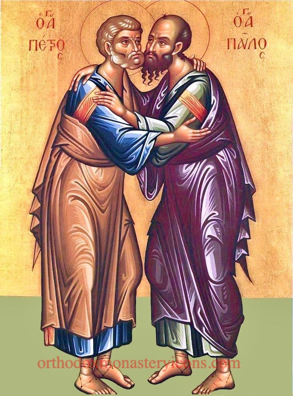 Ss. Peter and Paul the Apostles icon (1)