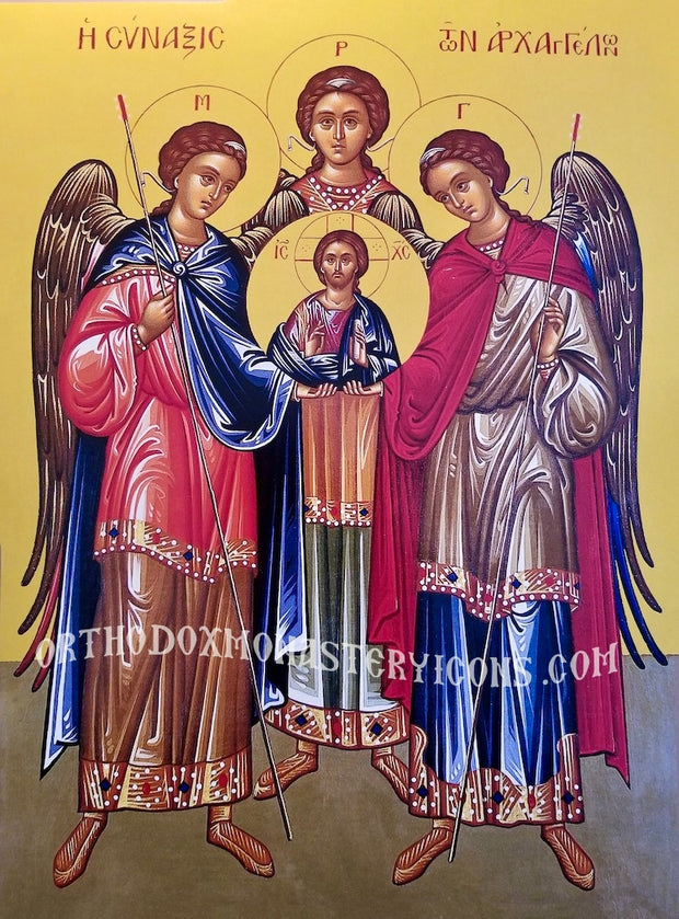 Council of Archangels icon (3)