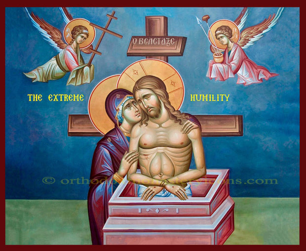 "Jesus Christ ""The Extreme Humility"" icon (3)"
