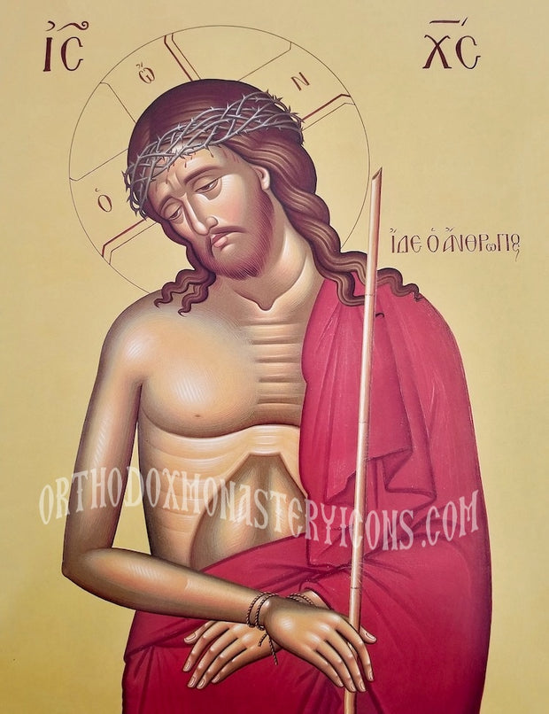 "Jesus Christ ""Bridegroom, Behold the Man"" icon (4)"