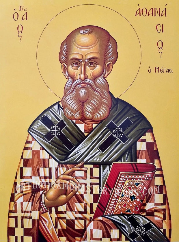 St. Athanasios the Great, Patriarch of Alexandria icon (2)