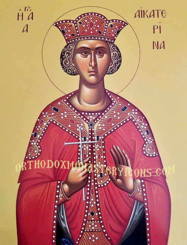 St. Catherine icon (3)