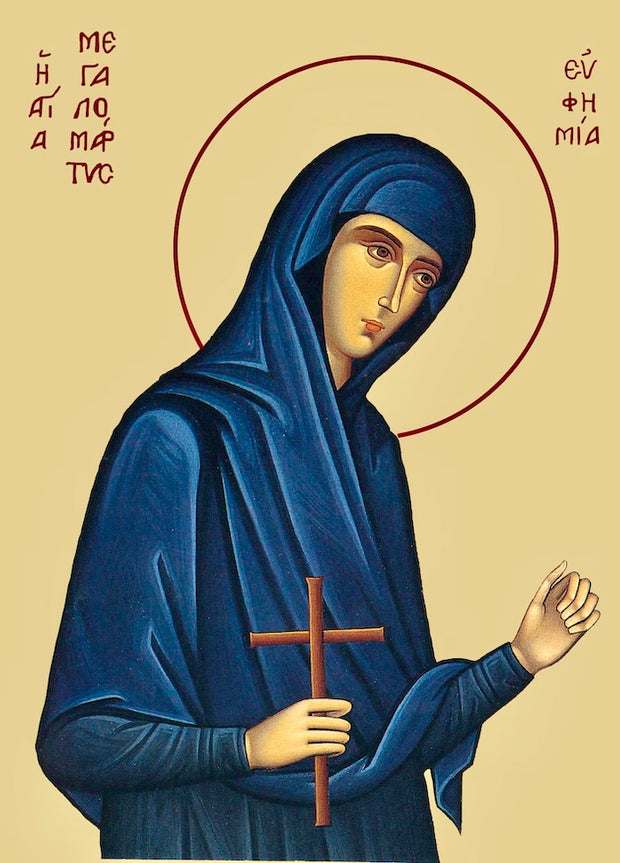 St. Euphemia the Great Martyr icon (1)
