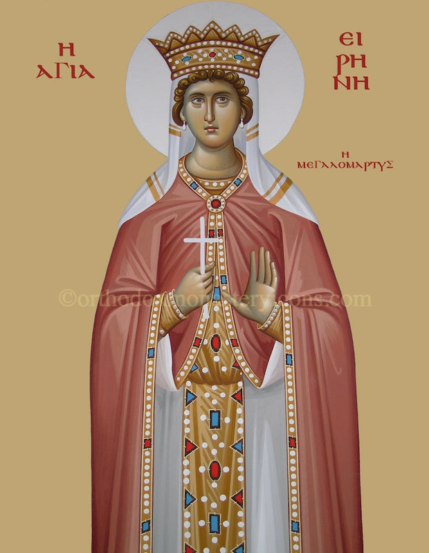 St. Irene the Great Martyr icon (3)