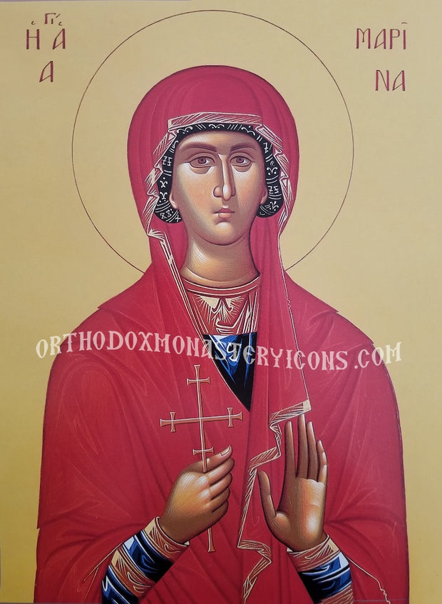 St. Marina the Great Martyr icon (3)
