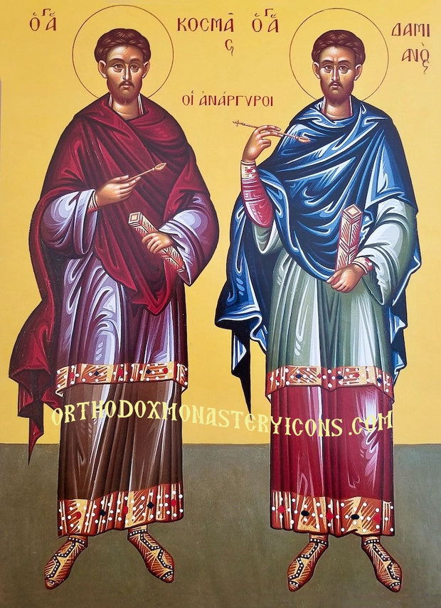 Ss. Cosmas and Damian, The Unmercenaries icon (1)