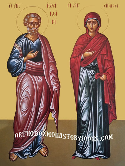 Ss. Anna and Joachim icon