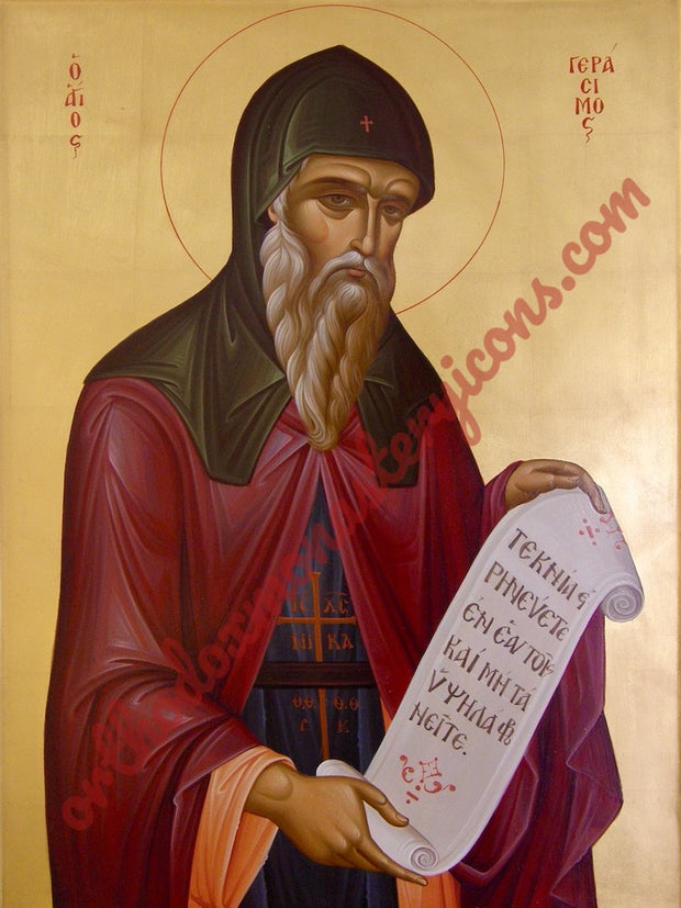 St. Gerasimus of Cephalonia icon