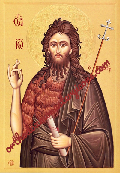 St. John the Baptist and Forerunner icon (6)