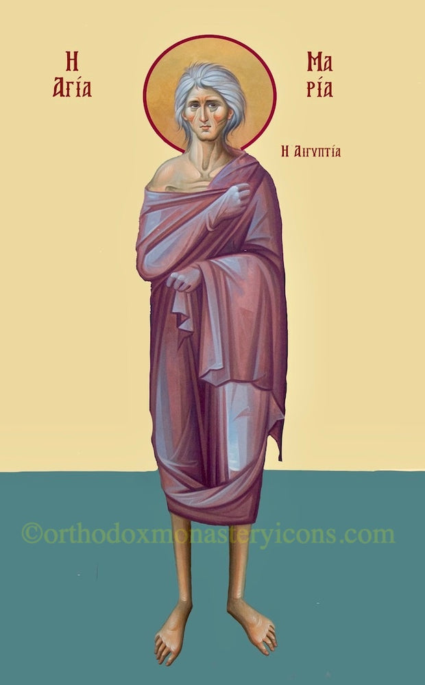 St. Mary of Egypt Icon (1)
