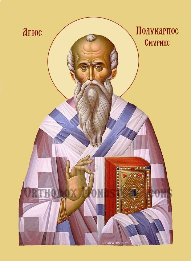 St. Polycarp, Bishop of Smyrna icon