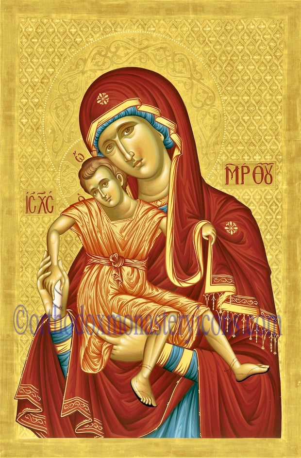 "Theotokos ""Axion Esti"" icon"