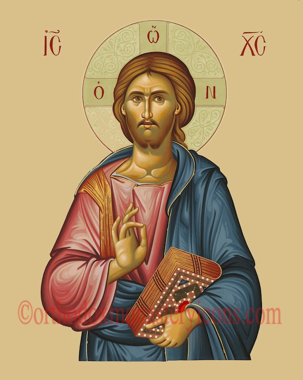 "Jesus Christ ""Pantocrator"" icon (5)"