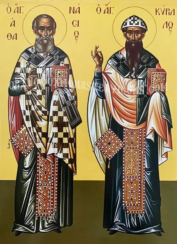 Ss. Athanasios and Cyril icon (2)