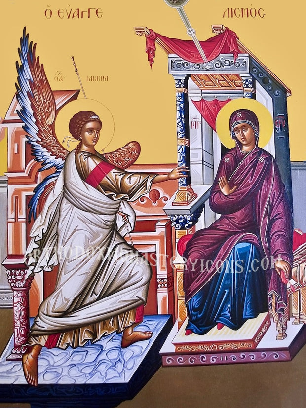 Annunciation of Theotokos icon (3)
