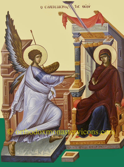 Annunciation of Theotokos icon (2)