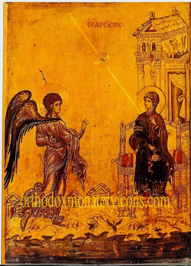 Annunciation of Theotokos Icon (10)