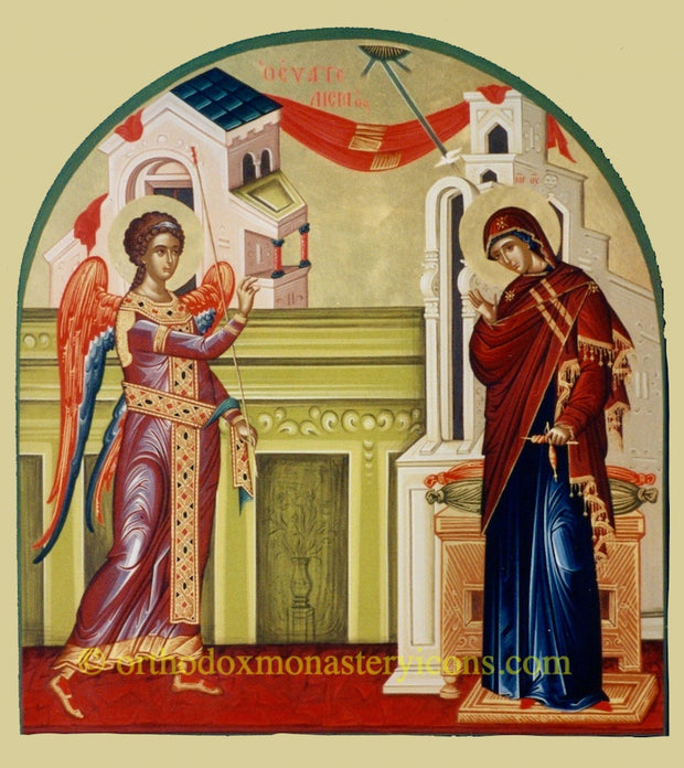 Annunciation of Theotokos icon (8)