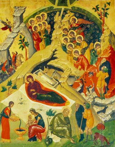Nativity of our Lord Jesus Christ icon (11)