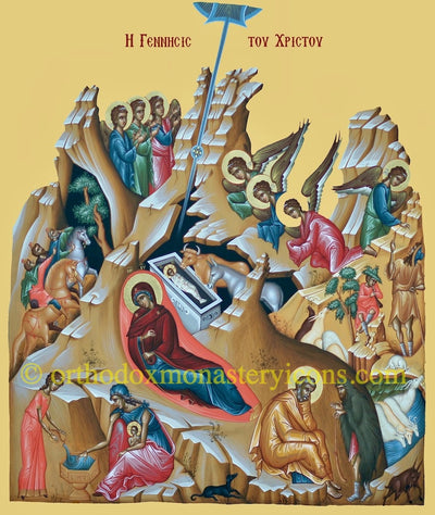 Nativity of our Lord Jesus Christ icon (3)