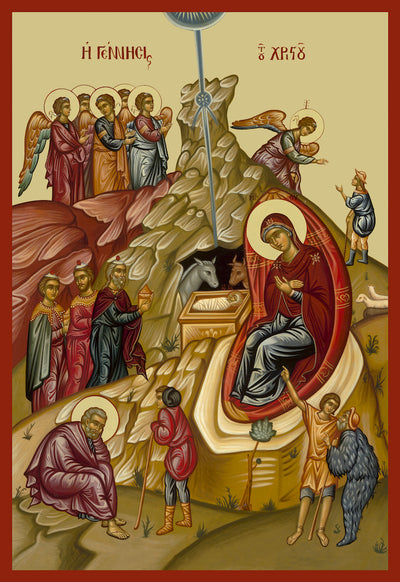 Nativity of our Lord Jesus Christ icon (5)