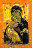 "Our Lady Theotokos of Vladimir "" Vladimirska"" icon (1)"
