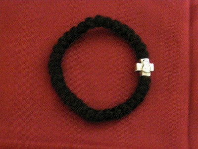 33 knots Wool Prayer Rope Bracelet