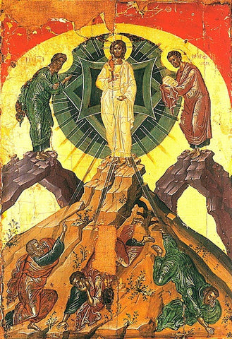 Orthodox icon of the Transfiguration of Christ Our Lord (2 ...