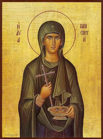 St. Paraskeve (Friday) icon (2)