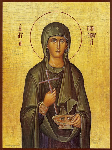 St. Paraskeve (Friday) icon (3)