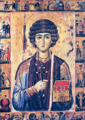 St. Panteleimon icon (3)