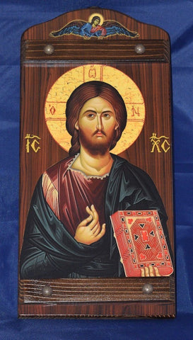 "Jesus Christ ""Pantocrator"" icon (742-VE)"