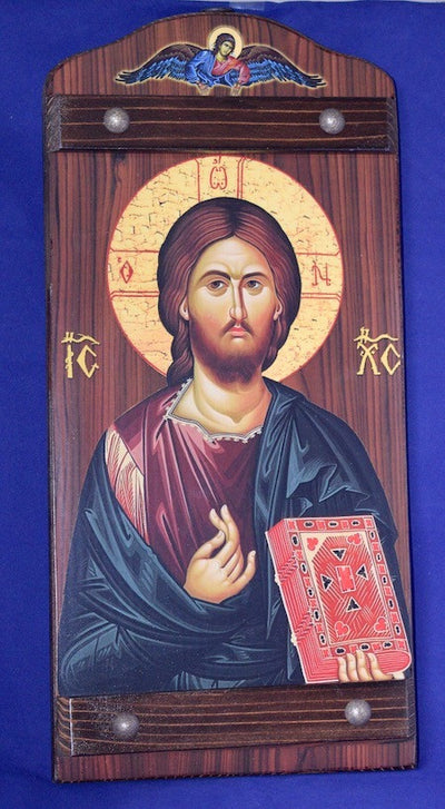 Jesus Christ and Most Holy Theotokos Pair Icons(P16)