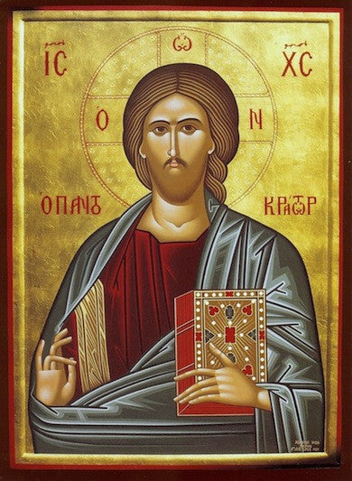 "Jesus Christ ""Pantocrator"" icon ( 9 )"